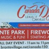 Canada Day Events Bronte Park Oakville