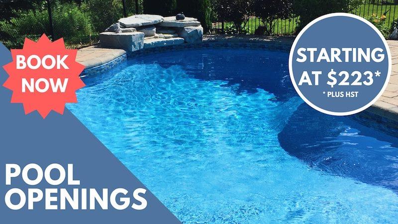 pool openings oakville